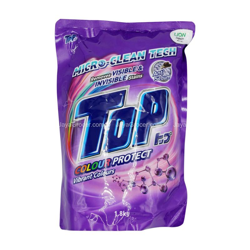 Top Colour Protect Liquid Detergent Refill 1.8kg