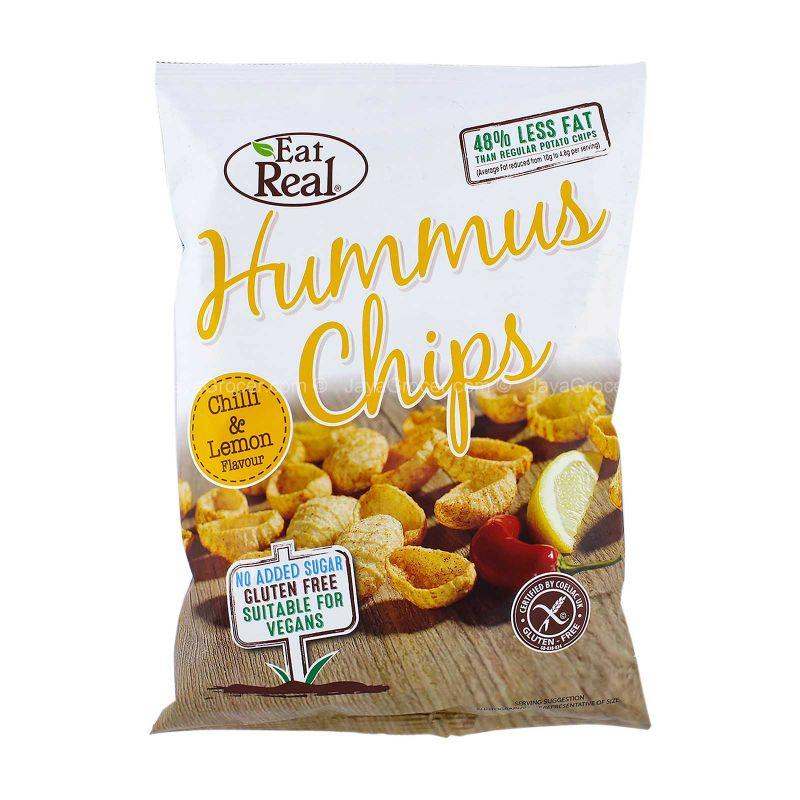 Eat Real Hummus Chips Chilli & Lemon Flavor 135g