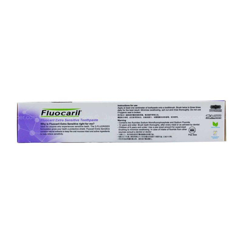 Fluocaril Bi-Fluore Extra Sensitive pH Perfect Toothpaste 100g