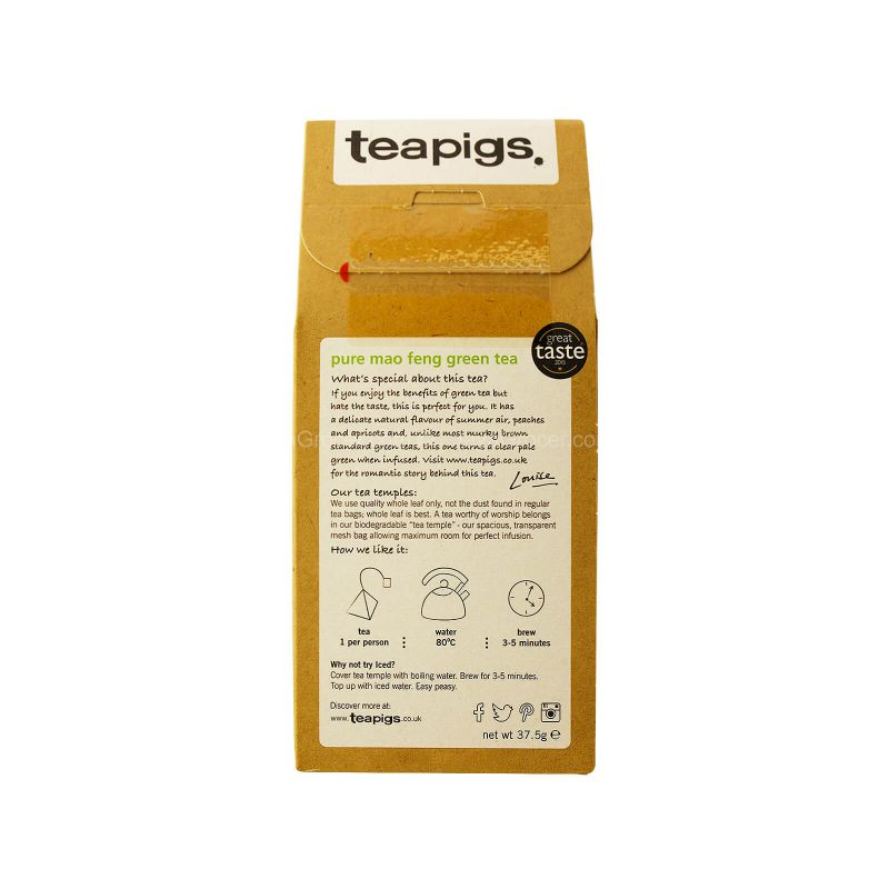 Teapigs Mao Feng Green Tea 37.5g