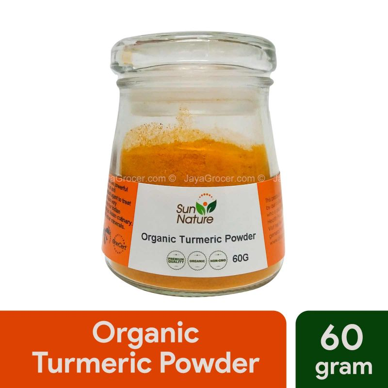 Sun Nature Organic Turmeric Powder 60g