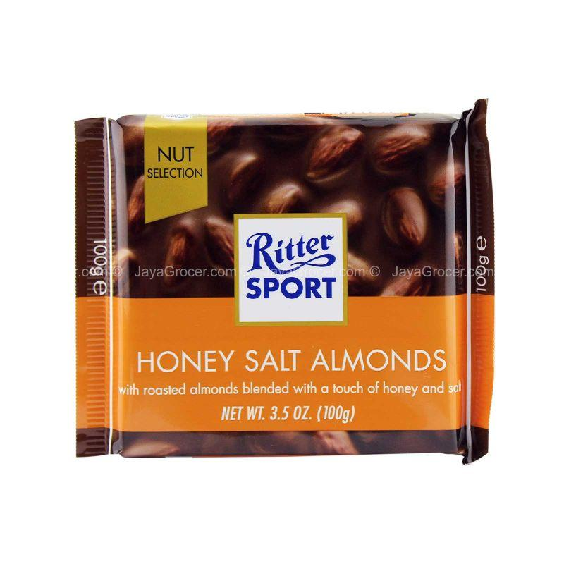 Ritter Sport Honey Salt Almonds 100g