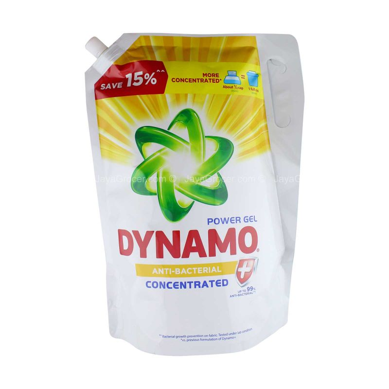 Dynamo Power Gel Anti-Bacterial Concentrated Liquid Detergent 2.4kg