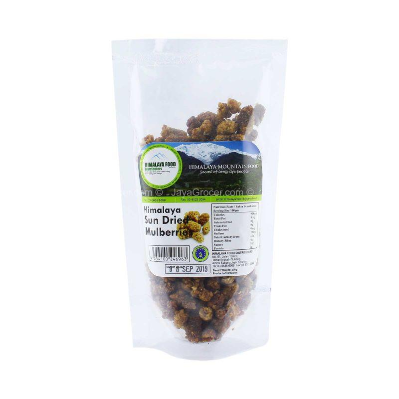 Himalaya Food Himalaya Sun Dried Mulberries 200g