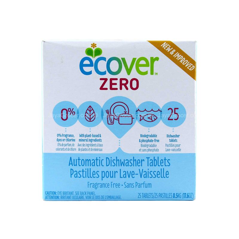 Ecover Zero Automatic Dishwasher Tablets 25pcs