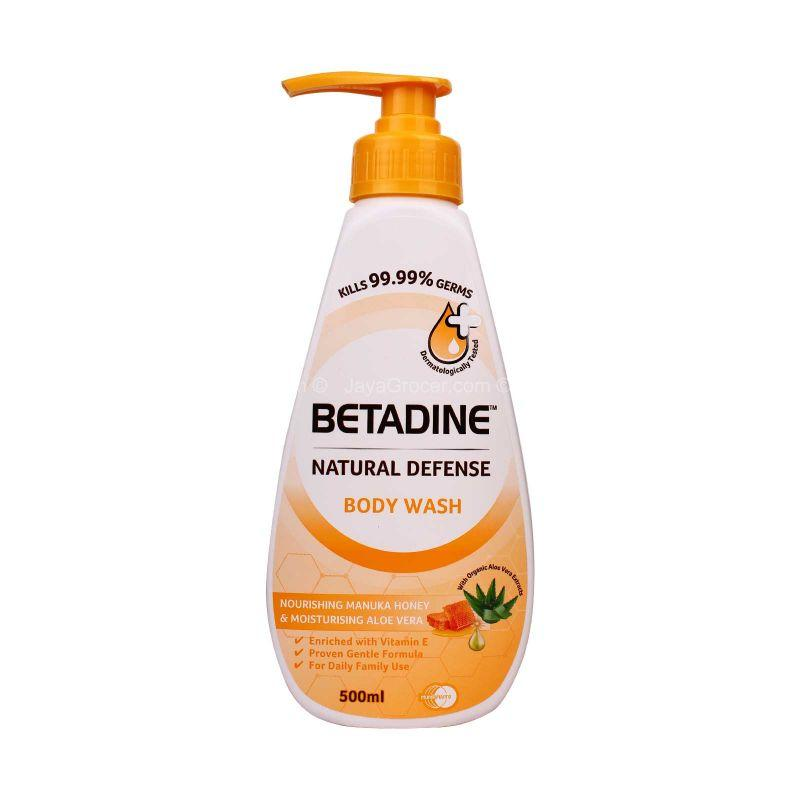 Betadine Nourishing Manuka Honey & Moisturising Aloe Vera Body Wash 500ml