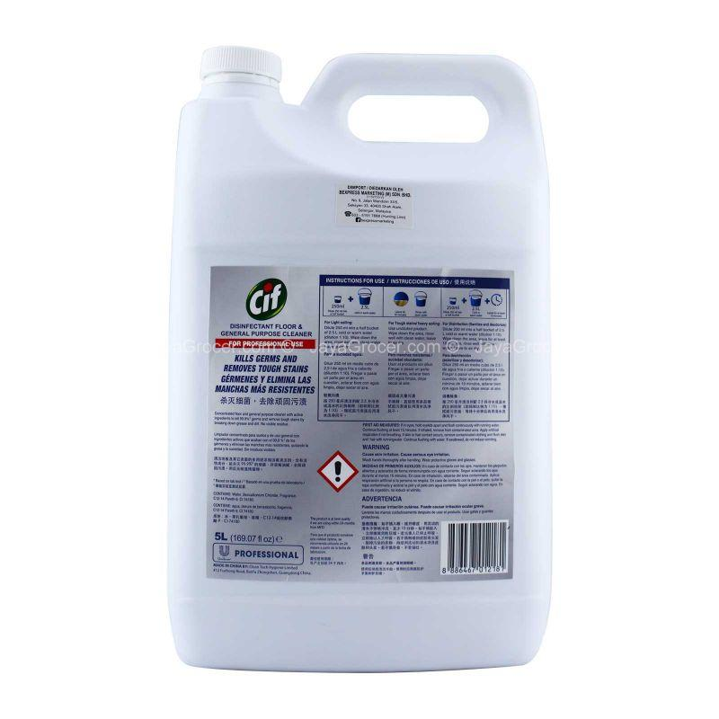Cif Disinfectant Floor Cleaner 5L
