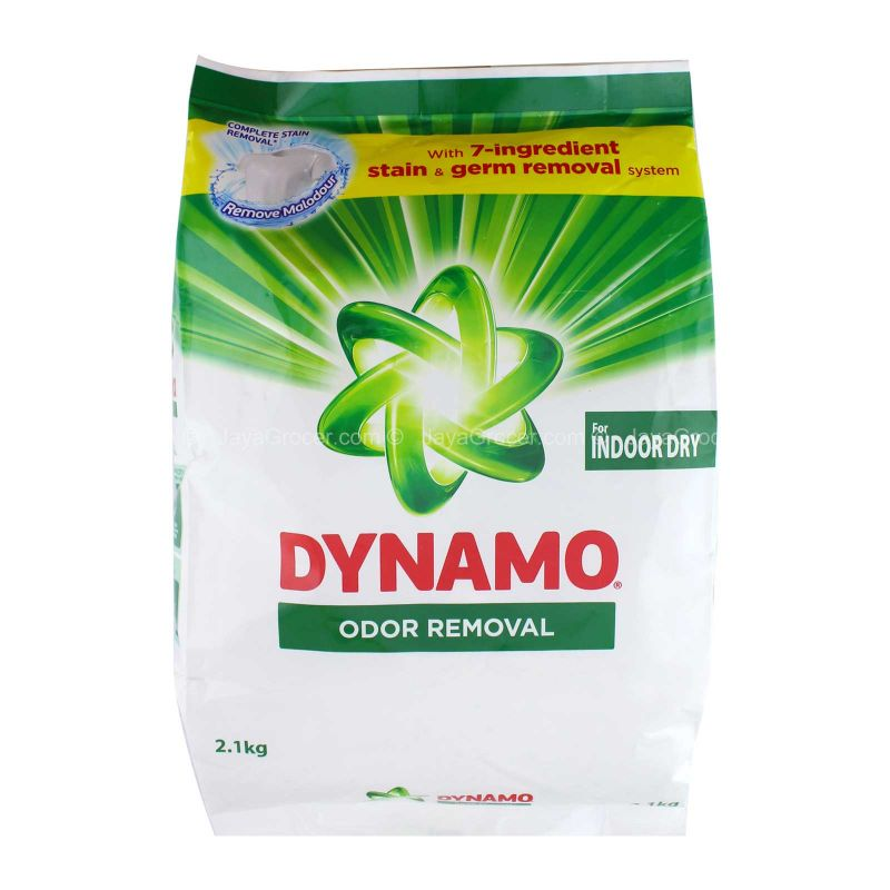 Dynamo Odor Removal Laundry Detergent Powder 2.1kg