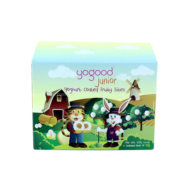 Yogood Junior Yoghurt Coated Fruity Bites 120g