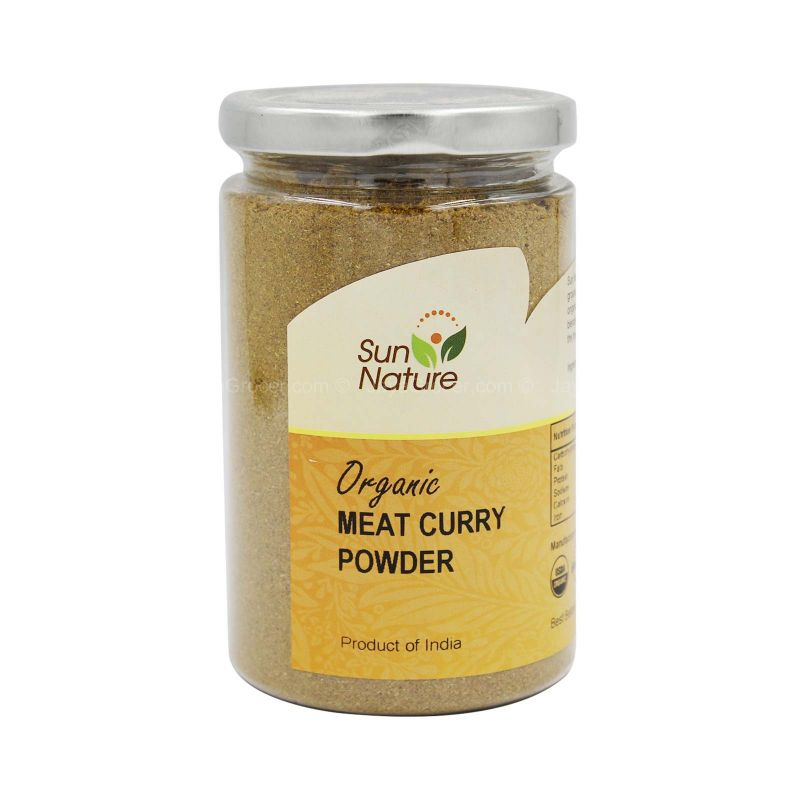 Sun Nature Organic Meat Curry Powder 200g