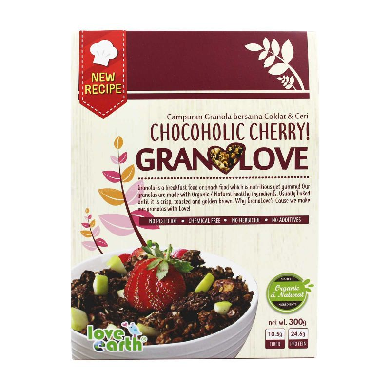 Love Earth Chocoholic Cherry Granolove 300g