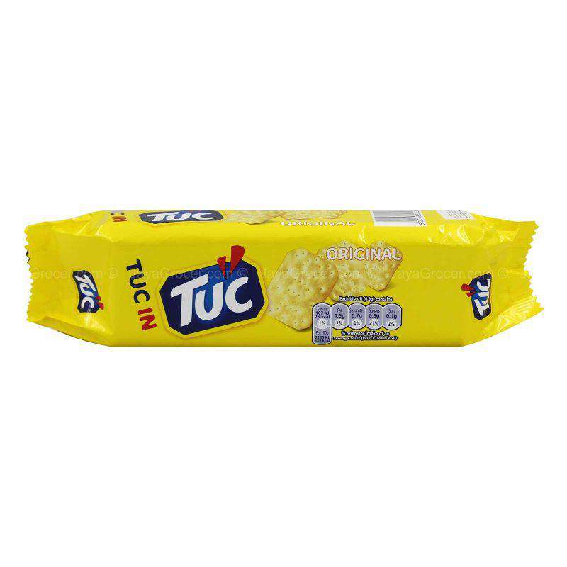 Jacob's Tuc Original Salted Savoury Snack Biscuit 150g