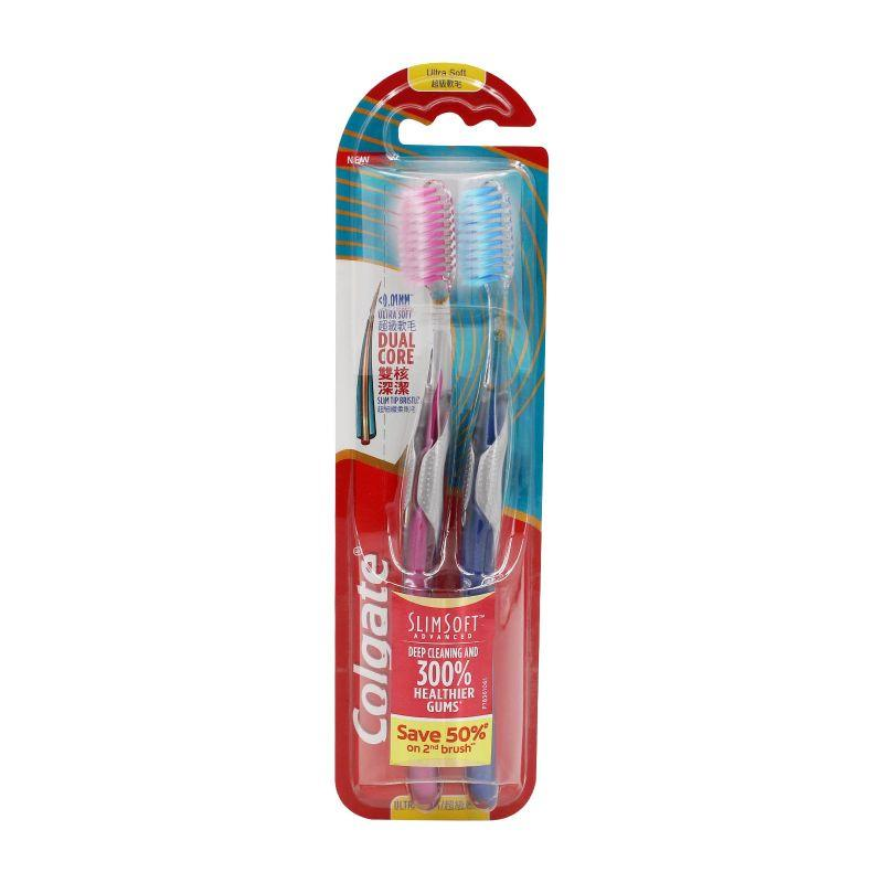 Colgate Slimsoft Advanced Toothbrush 1pack