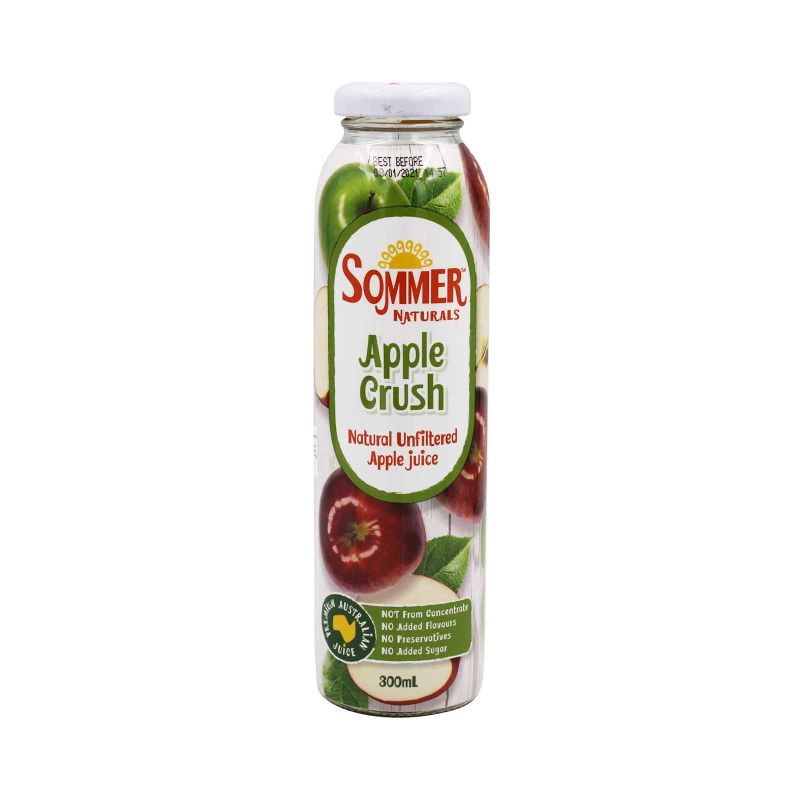 Sommer Naturals Apple Crush Juice 300ml