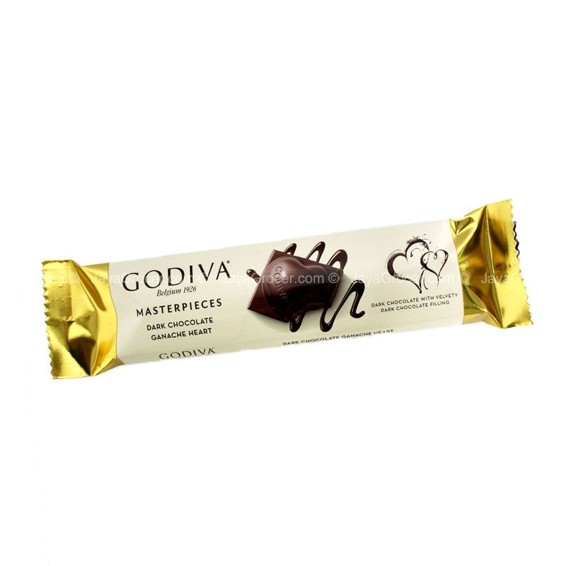 Godiva Masterpieces Dark Chocolate Ganache Heart 30g