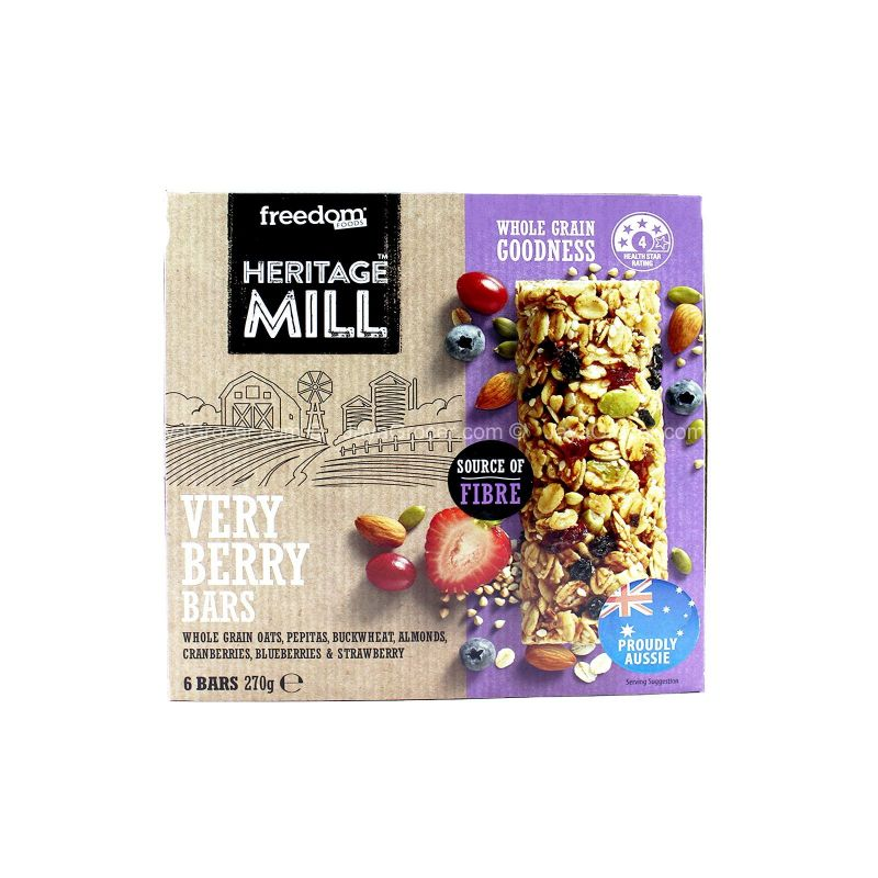 Heritage Mill Very Berry Bars 270g