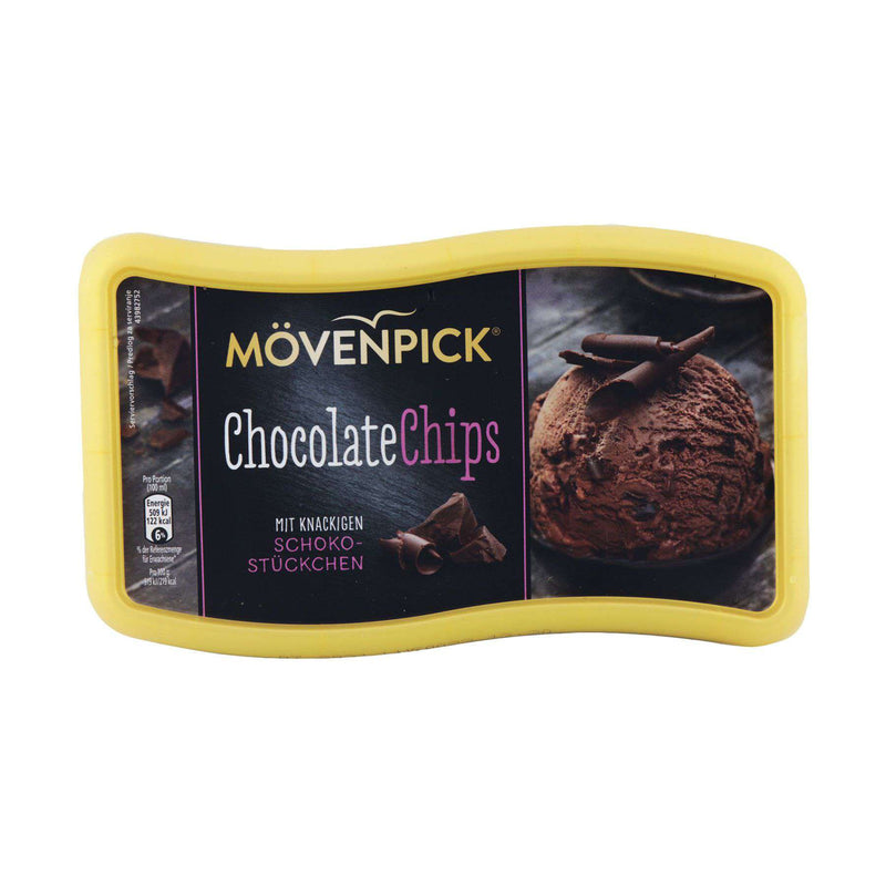 Nestle Movenpick Chocolate Chips Ice Cream 900ml