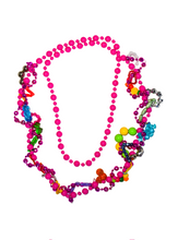 Load image into Gallery viewer, Statement pink fidget necklace
