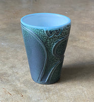 water carved tumbler 20-15