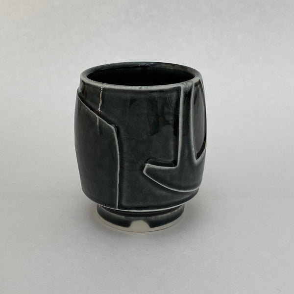 water carved tumbler 21-11