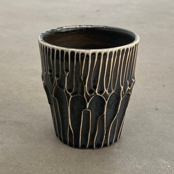 carved tumbler 20-16