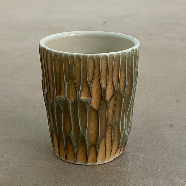carved tumbler 20-5