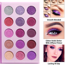 Load image into Gallery viewer, Purple Pinky Eyeshadow Palette