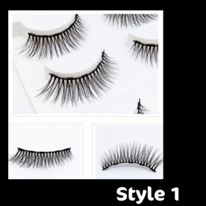 3D 5 in 1 MAGNETIC EYELASH SET