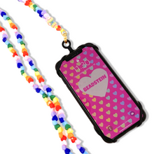 Load image into Gallery viewer, Rainbow Heart Strap