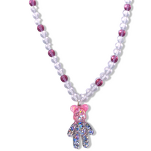 Load image into Gallery viewer, Glitzy Bear Necklace