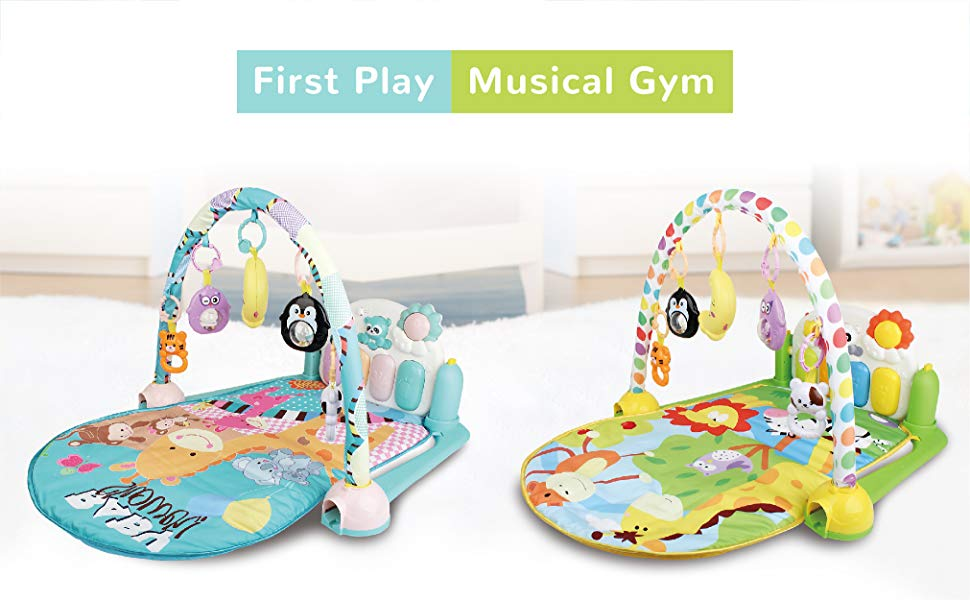 R for Rabbit Baby play gym for infants