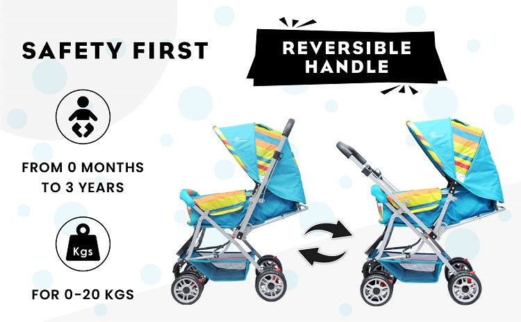 R for Rabbit Lollipop Lite Stroller for Babies and Kids