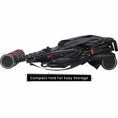 R for Rabbit Ginny and Johnny Twin Stroller – The Compact Twin Stroller