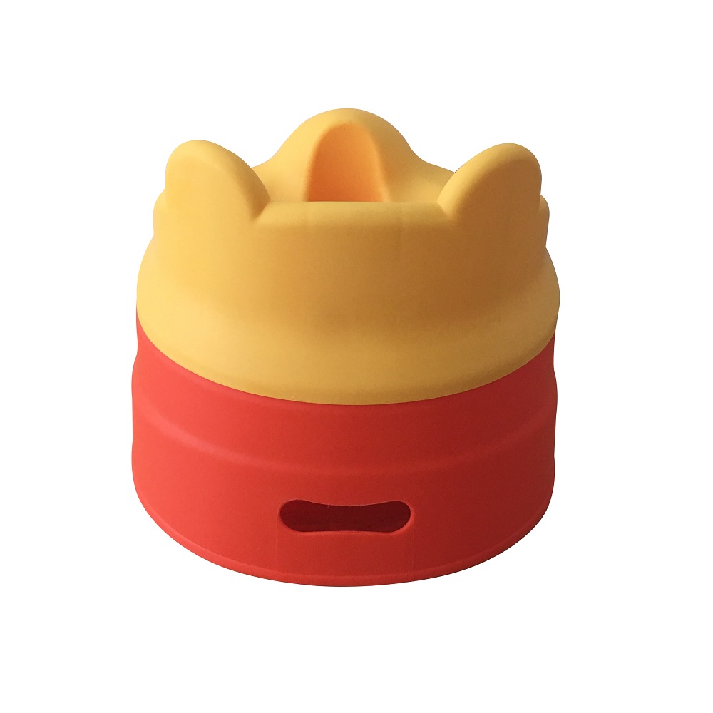 Tiny Tots – Adaptable Potty Training Seat (Orange Red) , Baby Potty Seat - R for Rabbit, R for Rabbit - The Amazing Baby Company - 11