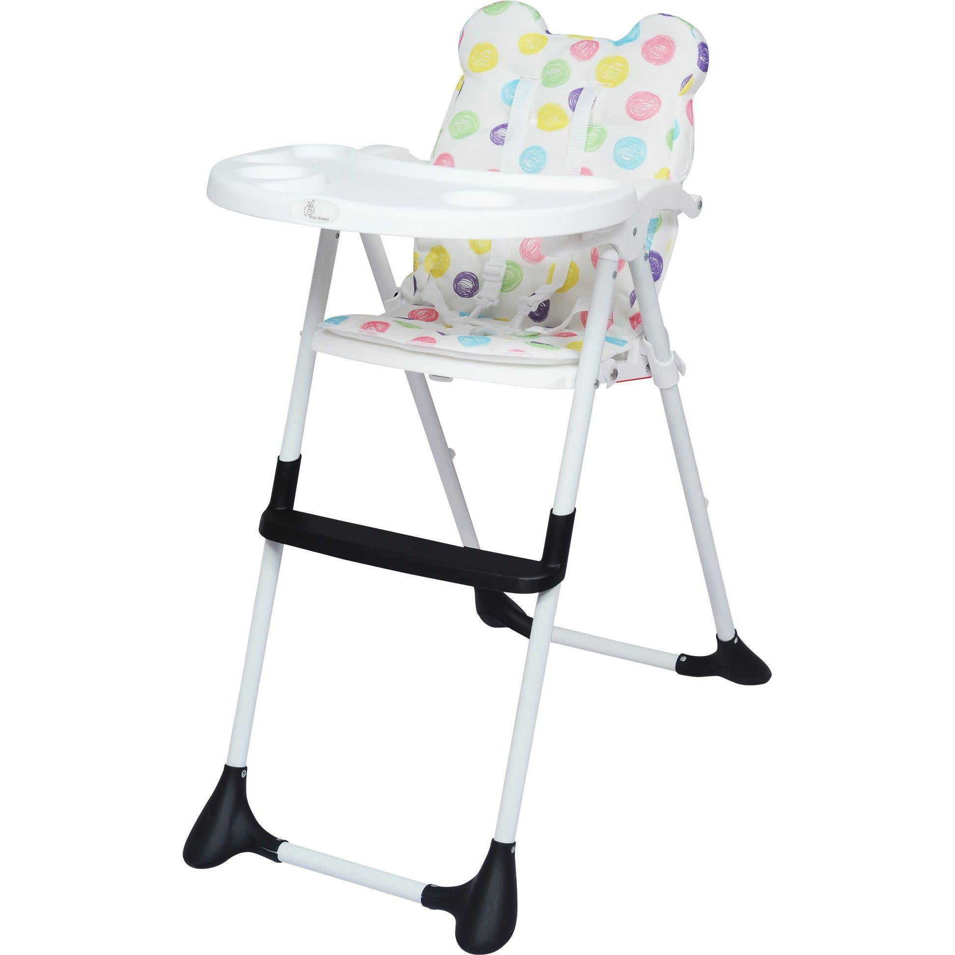 R For Rabbit Little Muffin Grand The Portable High Chair