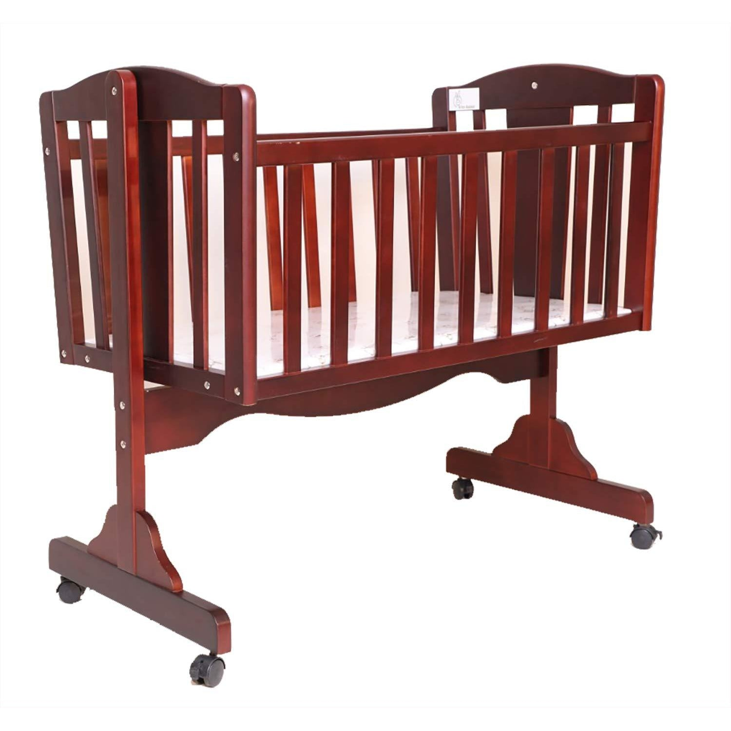 R for Rabbit Dream Time Wooden Cradle for New Born Babies