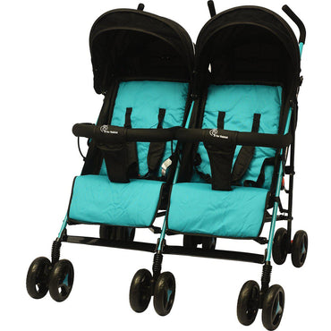 R for Rabbit Ginny and Johnny Twin Stroller – The Compact Twin Stroller for Twins