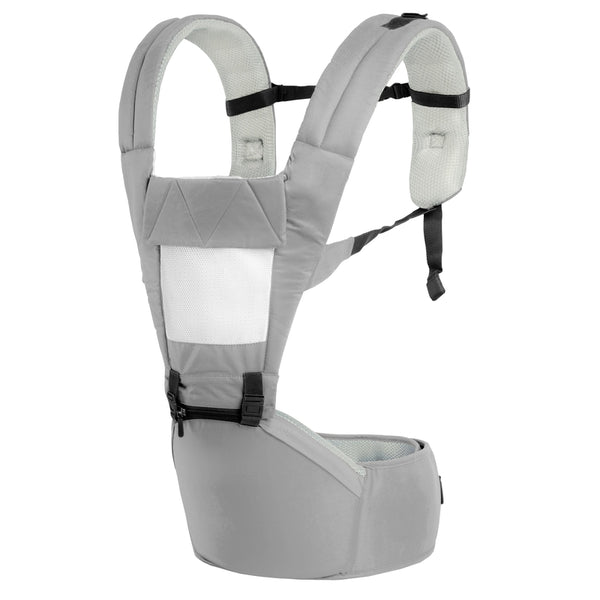 R for Rabbit Upsy Daisy - Smart Hip Seat Baby Carrier (Grey Cream)