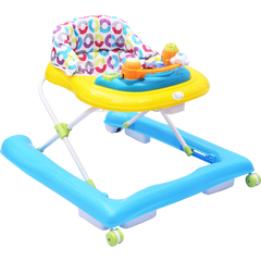 R for Rabbit Zig Zag - The Anti Fall Safe Baby Walker with Adjustable Height and Musical Toy Bar