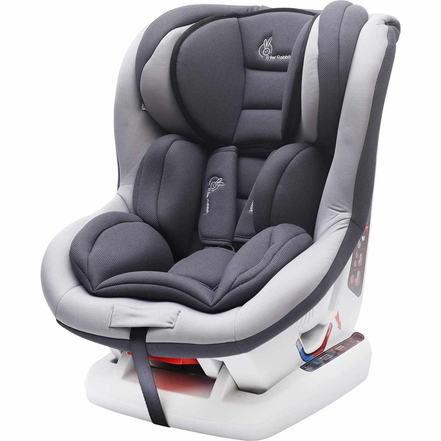 R for Rabbit Jack N Jill Sportz - The Sporty Look Convertible Baby/Kids Car Seat for 0-4 Years