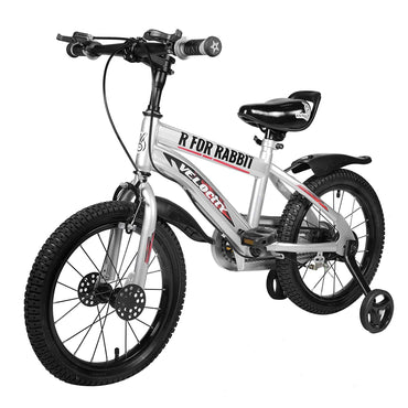 R for Rabbit Velocity 16 inch Bicycle for Kids of 4 to 7 Years Age for Boys and Girls