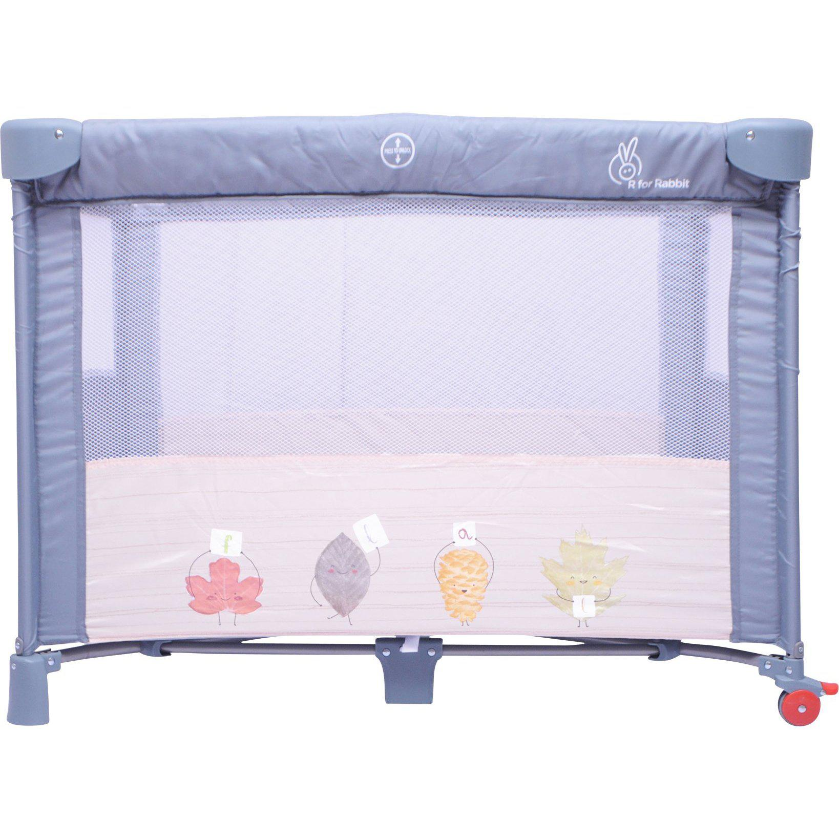 R for Rabbit Hide and Seek – Smart Folding Baby Bed cum Cot