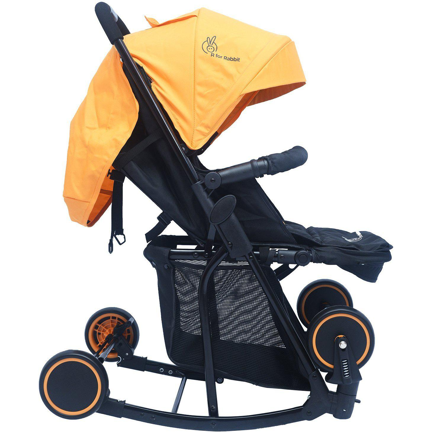 R For Rabbit Rock N Roll The Rocking Baby Stroller And