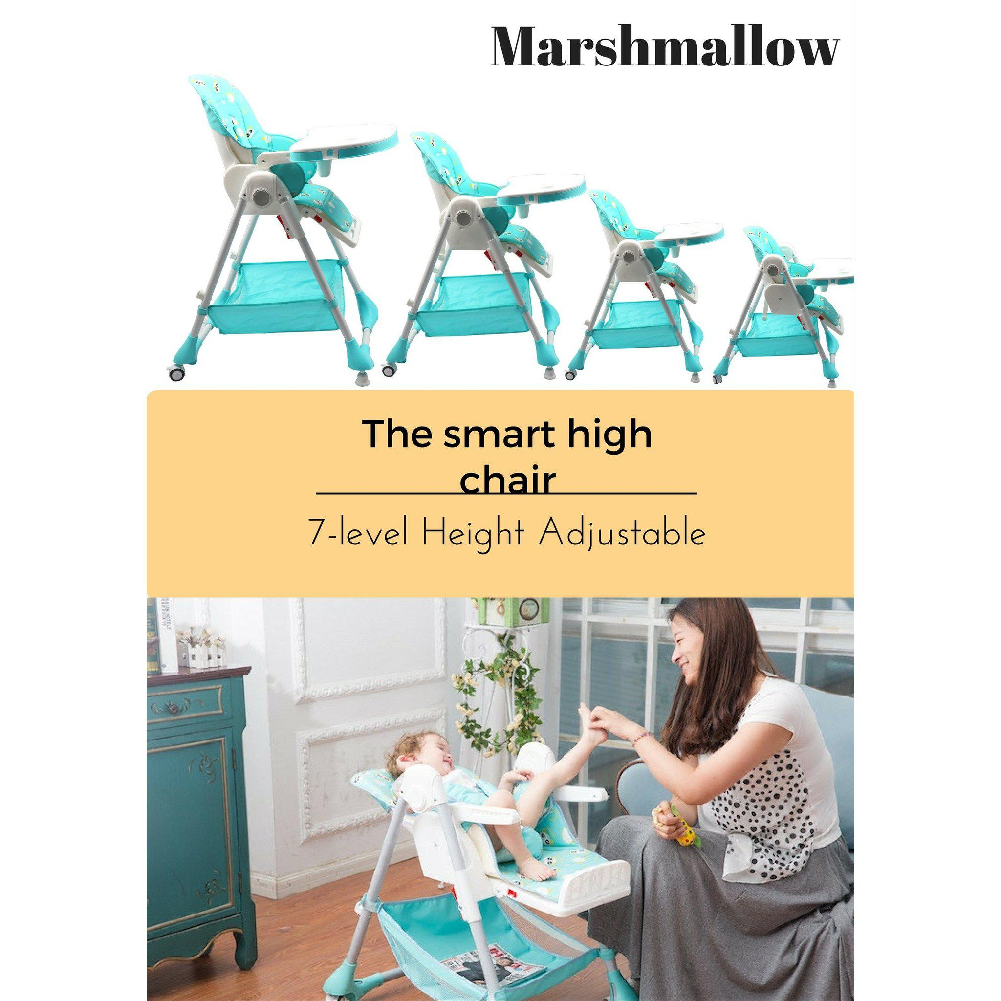 Marshmallow - The Smart High Chair , Baby High Chair - R for Rabbit, R for Rabbit - The Amazing Baby Company - 2