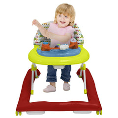 R for Rabbit Zig Zag Anti Fall Safe Baby Walker with Adjustable Height
