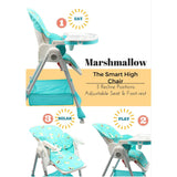 Marshmallow - The Smart High Chair , Baby High Chair - R for Rabbit, R for Rabbit - The Amazing Baby Company - 3