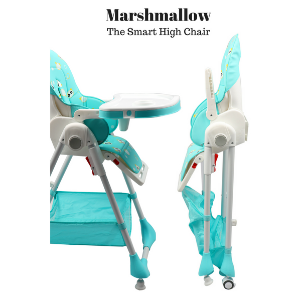 Marshmallow - The Smart High Chair , Baby High Chair - R for Rabbit, R for Rabbit - The Amazing Baby Company - 4
