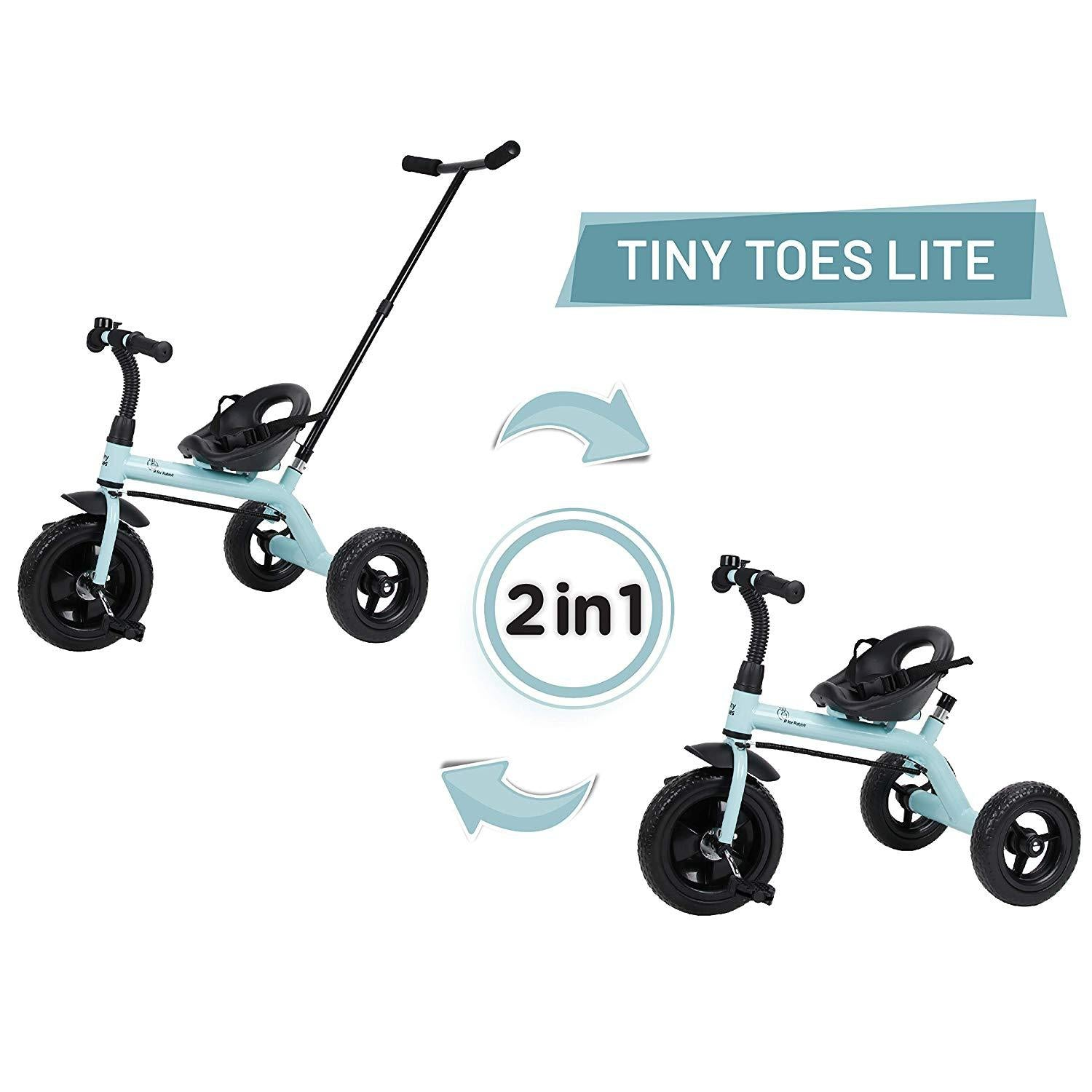 R for Rabbit Tiny Toes Lite Baby Tricycle for Kids  for 1.5 to 5 Years