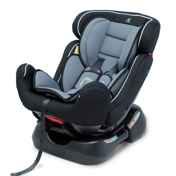Jack N Jill Grand (Black Grey) – Convertible Baby Car Seat For 0-7 Years Age