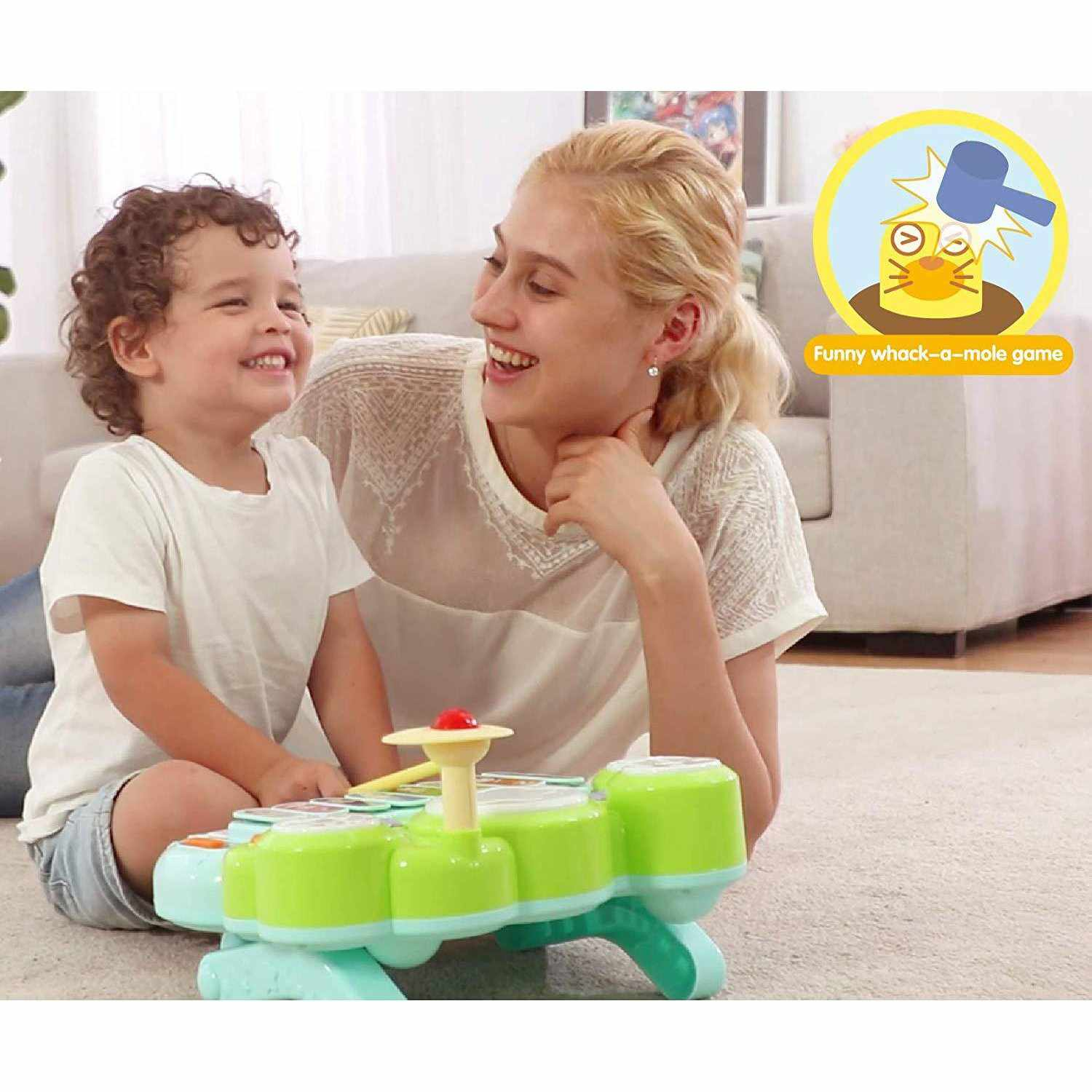Orapple Toys Musical Learning Station Toys for Kids